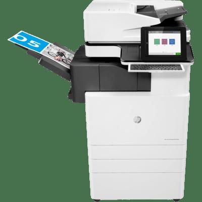 Aluguel de impressora HP E87660Z MFP LASER COR 60PPM A3 FLOW